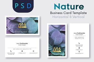 Nature Business Card Template- S45