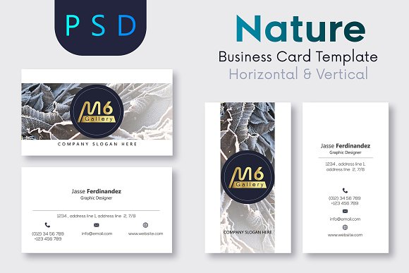 Nature Business Card Template- S46