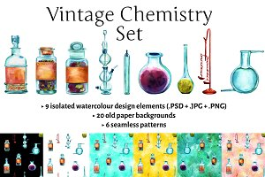 Vintage Chemistry Set