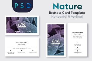 Nature Business Card Template- S47