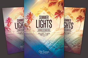 Summer Lights Flyer