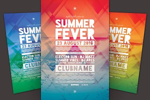 Summer Fever Flyer