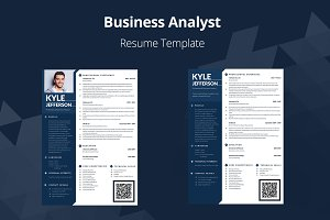 Editable Resume: Business Analyst