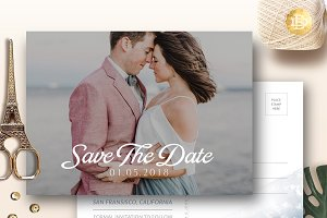 Save The Date Card SD002