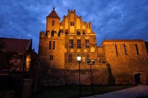 Citizens Court by Night in Torun