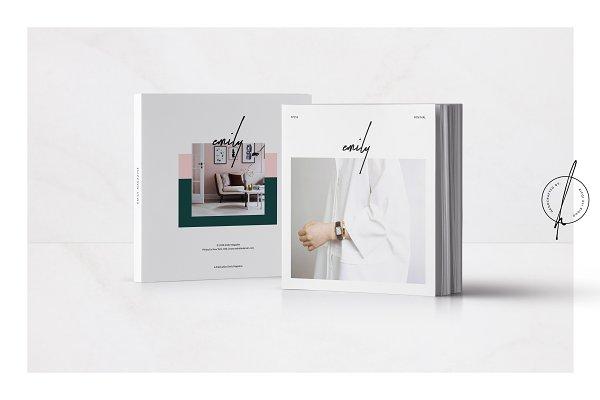 Magazine Templates: Rifqi Ali Ridho - Emily Magazine