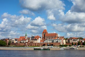 City of Torun in Poland