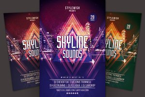 Skyline Sounds Flyer