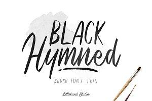 Black Hymned - Font Trio