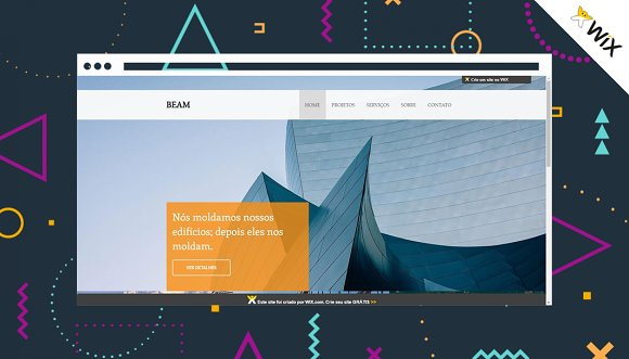 Wix Website Template
