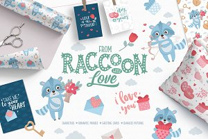 From Raccoon With Love Set