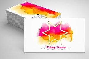 Wedding Planner's Business Card