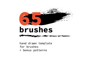65 Brushes + 6 patterns