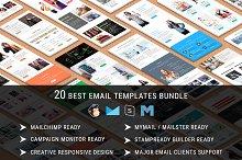20 Best Email Templates - Bundle 10