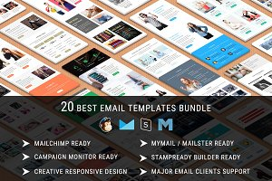 20 Best Email Templates - Bundle 10