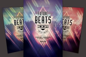 Future Beats Flyer
