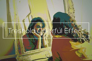 Treshold Colorful Effect