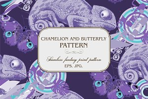 Seamless fantasy patterns