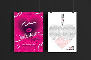 Valentine's Day Flyers.