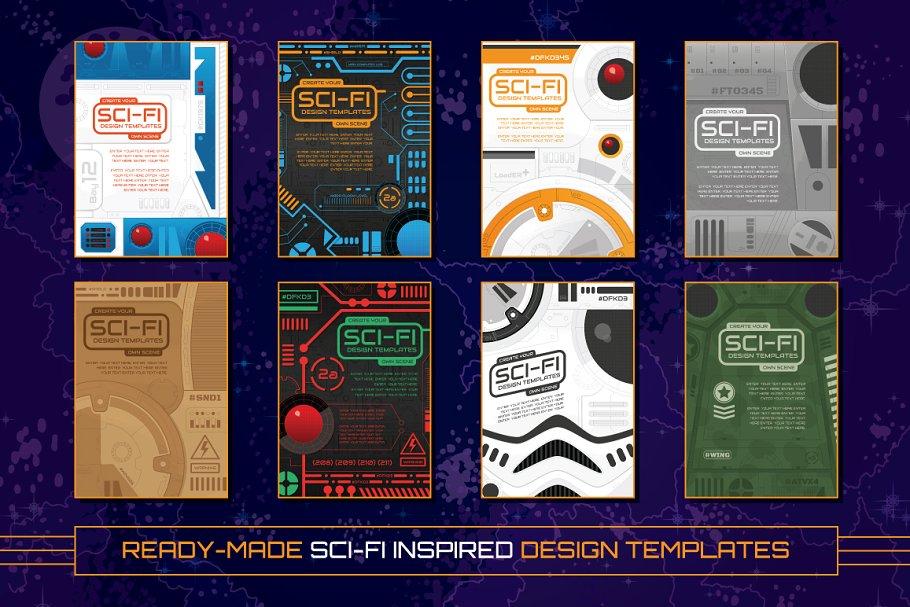 Sci-Fi Design Templates and Vectors