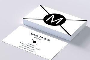 Beautiful clean business card