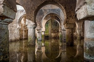 Arab cistern of the city of Caceres