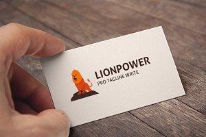 Lion Power Logo