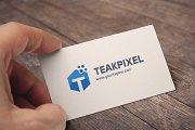 Letter T (TeakPixel) Logo
