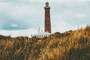 Lighthouse Landscape Travel scenery