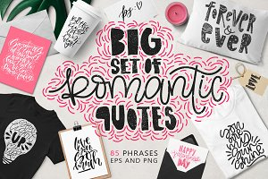 85 Romantic quotes overlays!