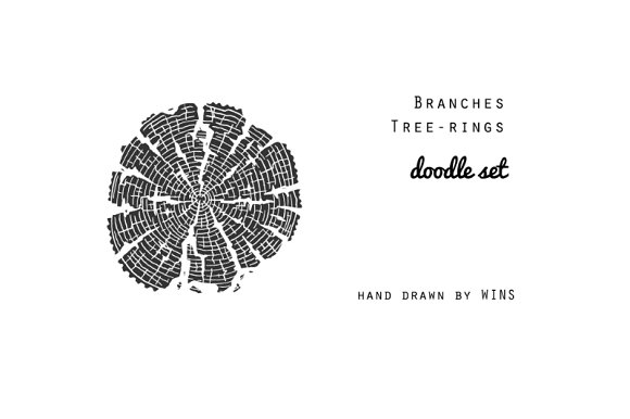 Branches & Tree-rings in Illustrations