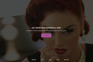 Hair Salon Premium WordPress Theme