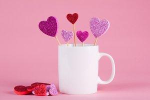 Valentine Mug Mockup