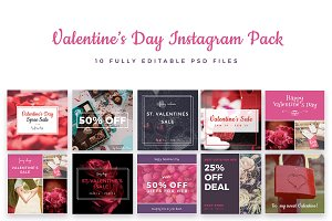 Valentine's Day Instagram Pack