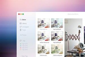 PhotoEditor Mac OsX App