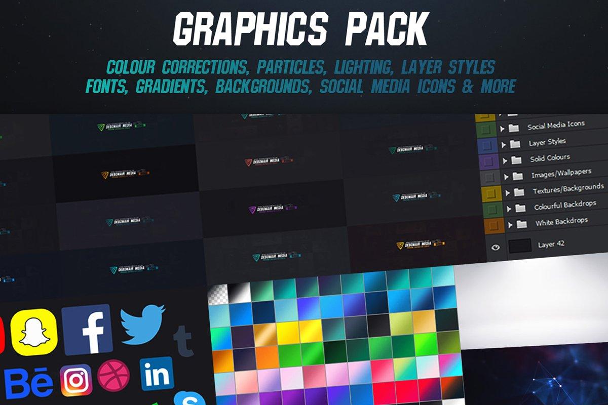 Designers Graphics Pack - Esports