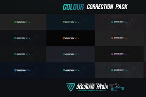 Colour Correction Pack - 16 Total