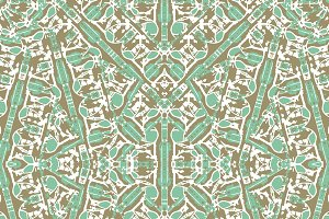 Intricate Geometric Seamless Pattern