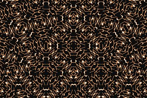 Modern Abstract Geometric Seamless Pattern