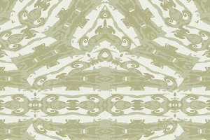 Ornate Decorative Seamless Pattern Mosaic
