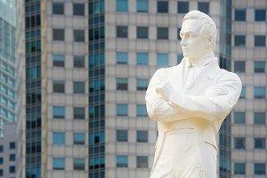 Statue of Sir Tomas Stamford Raffles