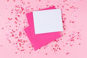 blank valentine card