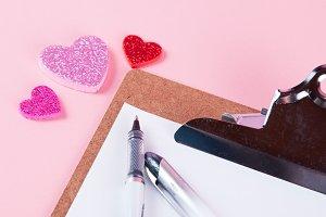 valentine clipboard