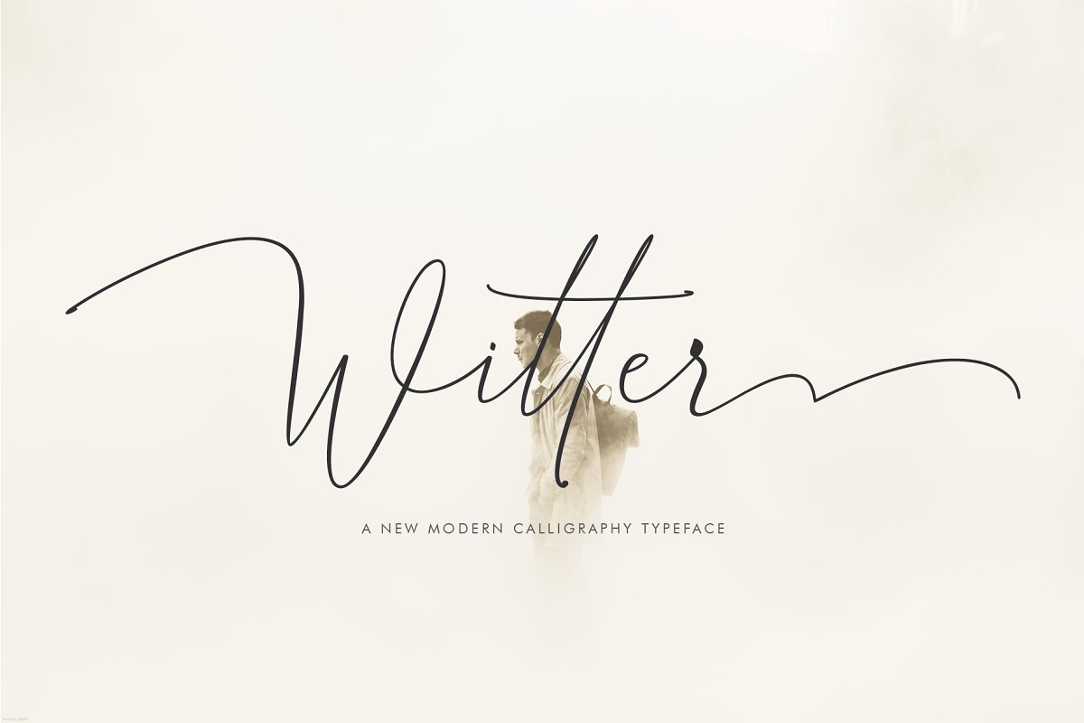 Witter ~ Script Fonts ~ Creative Market