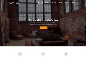 Loftdiz Premium WordPress Theme