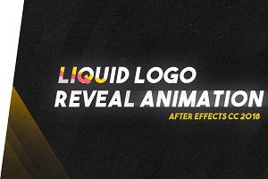 Liquid Logo Reveal Animation 2018 !