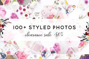 Styled photo bundle (100+ photos)
