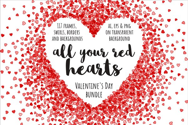 All your red hearts bundle