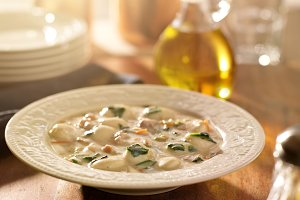 italian chicken and gnocchi soup