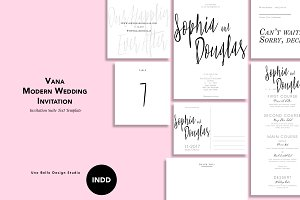 Vana Modern Wedding Stationery
